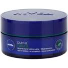 Nivea Visage Pure & Natural Regenerating Night Cream For All Types Of Skin (Regenerating Night Cream) 50 ml