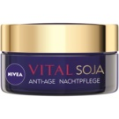 Nivea Visage Vital Multi Active creme de noite antirrugas (Sója Anti-wrinkle Night Cream) 50 ml
