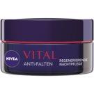 Nivea Visage Vital creme de noite regenerador  para pele madura  50 ml