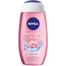 Nivea Waterlily & Oil energetizáló tusfürdő gél (Shower Gel) 250 ml