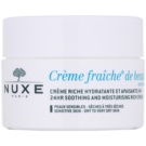 Nuxe Creme Fraîche de Beauté zklidňující a hydratační krém pro suchou až velmi suchou pleť (24hr Soothing and Moisturizing Rich Cream) 50 ml