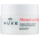 Nuxe Cleansers and Make-up Removers čisticí maska pro citlivou pleť (Clarifying Cream-Mask) 50 ml