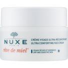 Nuxe Reve de Miel crema de día  hidratante y nutritiva  para pieles secas (Ultra Comfortable Face Cream) 50 ml