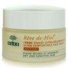 Nuxe Reve de Miel nawilżająco - odżywczy krem na dzień do skóry suchej (Ultra Comfortable Face Cream) 50 ml