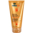 Nuxe Sun Sun Lotion for Face and Body SPF 30 (Anti - Aging Cellular Protection, Sublime Tan with Sun and Water Flowers) 150 ml