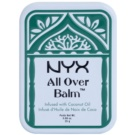 NYX Professional Makeup All Over tělový balzám Coconut Oil 25 g