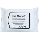 NYX Professional Makeup Be Gone! Cleansing Wipes (Make-up Remover Wipes) 20 pc