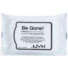 NYX Professional Makeup Be Gone! очищуючі серветки  20 кс