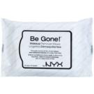 NYX Professional Makeup Be Gone! toallitas desmaquillantes  20 ud