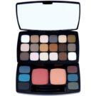 NYX Professional Makeup Bohéme Chic večnamenska paleta (24 Eye Shadows + 2 Blushers) 36,4 g