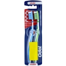 Odol Interdental perie de dinti mediu Light Blue & Green