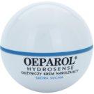 Oeparol Hydrosense crema hidratante y nutritiva para pieles secas (HialuRose Complex) 50 ml