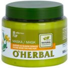 O'Herbal Arnica Montana mascarilla para dar volumen al cabello fino  500 ml
