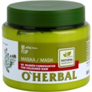 O'Herbal Thymus Vulgaris maska za barvane lase (Gives Your Hair Shine) 500 ml