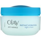 Olay Anti-Wrinkle Instant Hydration crema de noche antiarrugas 50 ml