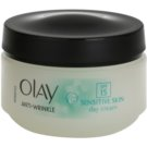 Olay Anti-Wrinkle Sensitive Skin crema de día antienvejecimiento SPF 15 (Day Cream) 50 ml