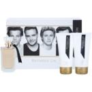 One Direction Between Us подаръчен комплект I. парфюмна вода 100 ml + мляко за тяло 150 ml + душ гел 150 ml
