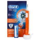 Oral B Pro 400 D16.513 CrossAction Electric Toothbrush Limited Color Edition Orange (3D Action)  pc