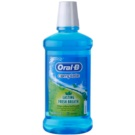 Oral B Complete Mouthwash Anti-Halitosis Flavour Cool Mint (Lasting Fresh Breath) 500 ml