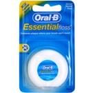 Oral B Essential Floss fio dentário ceroso (Waxed Dental Floss) 50 m