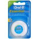 Oral B Essential Floss Waxed Dental Floss with Mint Flavor (Waxed Dental Floss) 50 m