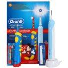 Oral B Family Edition D16.513.U + D10.51K Periuta de dinti electrica + periuta de dinti electrica pentru copii (Profesinal Care 500 + Kids Mickey Mouse)