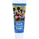 Oral B Pro-Expert Stages Mickey Mouse pasta de dentes para crianças sabor Berry Bubble (Anticavity Fluoride Toothpaste) 75 ml