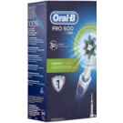 Oral B Pro 600 D16.513 CrossAction escova de dentes eléctrica (1 Replacement Brush Head)