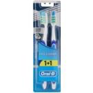 Oral B Pro-Expert CrossAction Extra Clean zubní kartáčky medium 2 ks Dark Blue/Blue & Dark Blue/Blue