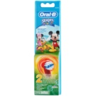 Oral B Stages Power EB10 Mickey Mouse Replacement Heads For Toothbrush Extra Soft (For Boys) 2 pc