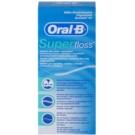 Oral B Super Floss nić dentystyczna do aparatu ortodontycznego oraz implantów  50 szt.