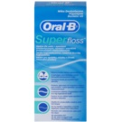 Oral B Super Floss hilo dental para aparatos e implantes dentales   50 ud