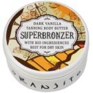 Oranjito Bio Dark Vanilla manteiga de bronzeamento para solário (Superbronzer) 100 g