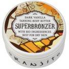 Oranjito Bio Dark Vanilla Unt de bronzare la solar (Superbronzer) 100 g