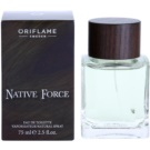 Oriflame Native Force Eau de Toilette para homens 75 ml