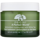 Origins A Perfect World™ creme facial antioxidante com chá branco (Antioxidant Moisturizer with White Tea) 50 ml