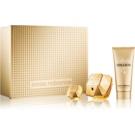 Paco Rabanne Lady Million lote de regalo VIII.  eau de parfum 80 ml + leche corporal 100 ml + eau de parfum 5 ml