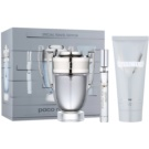 Paco Rabanne Invictus Gift Set XII.  Eau De Toilette 100 ml + Eau De Toilette 10 ml + all-over shampoo 100 ml