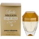 Paco Rabanne Lady Million Eau My Gold Eau de Toilette pentru femei 50 ml