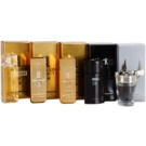 Paco Rabanne Mini ajándékszett I. - 1 Million 5 m, 1 Million Intense 5 ml, 1 Million Cologne 7 ml, Invictus 5 ml, Black XS 5 ml Eau de Toilette 4 x 5 ml + Eau de Toilette 7 ml