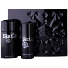 Paco Rabanne XS Black dárková sada III. toaletní voda 100 ml + deodorant ve spreji 150 ml
