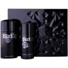 Paco Rabanne Black XS  подарунковий набір III  Туалетна вода 100 ml + Дезодорант 150 ml