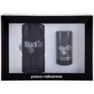 Paco Rabanne XS Black Geschenkset V. Eau de Toilette 100 ml + Deo-Stick 75 ml