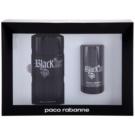Paco Rabanne Black XS  dárková sada V. toaletní voda 100 ml + deostick 75 ml