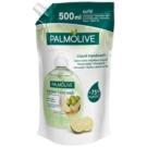Palmolive Kitchen Hand Wash Anti Odor mýdlo na ruce pro odstranění nepříjemného zápachu po vaření náhradní náplň (Lime) 500 ml
