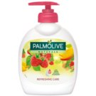Palmolive Naturals Refreshing Care sabão liquido para mãos com doseador (100% Natural Raspeberry) 300 ml