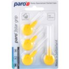 Paro 3Star Grip триъгълни четки за междузъбни пространства 4 бр. 1092 Yellow XX-Fine 2,6 mm (Interdental Brush with Patented Triangle Brush Cut)
