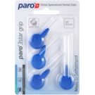 Paro 3Star Grip триъгълни четки за междузъбни пространства 4 бр. 1093 Blue X-Fine 3,5 mm (Interdental Brush with Patented Triangle Brush Cut)