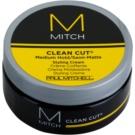 Paul Mitchell Mitch Clean Cut polomatný stylingový krém střední zpevnění (Forms Clean, No-Fuss Looks) 85 g