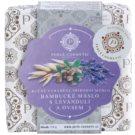 Perlé Cosmetic Natural ręcznie robione mydło masło shea z lawendą i owsem  115 g